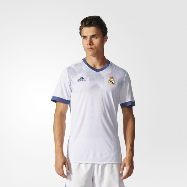 Предматчевая футболка Реал Мадрид Home