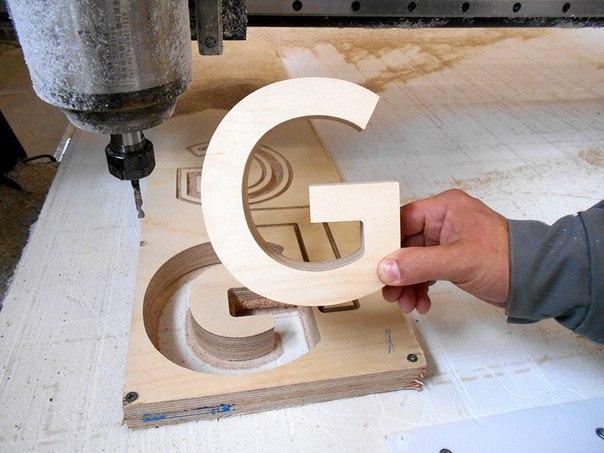 Бизнес-идея: Изготовление букв и надписей из фанеры.  Стартовый капи