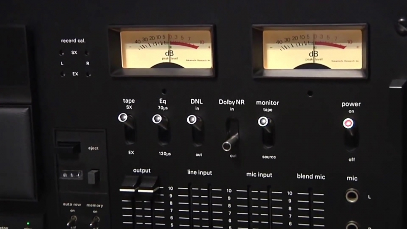 Nakamichi 1000 Tri Tracer oldplayer