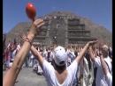 Мексиканцы встречают весну танцами у пирамид