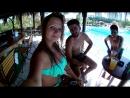 С мальчиками Иранцами в аквапарке Стамбула