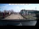 Электропоезд ЭД2Т сообщением Артёмовск-2 - Красный Лиман