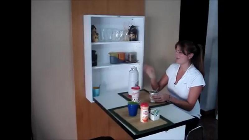 Идея обустройства обеденной зоны в малогабаритных квартирах