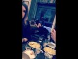 Lea Micheles snapchat video
