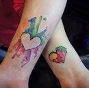 Особая связь: 20 парных татуировок, которые демонстрируют нежные чувства матерей и их дочек…