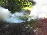 Дымовая шашка из аммиачной селитры 2
