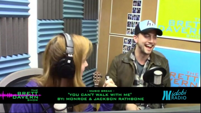 Monroe and Jackson Rathbone - You can't walk with me
