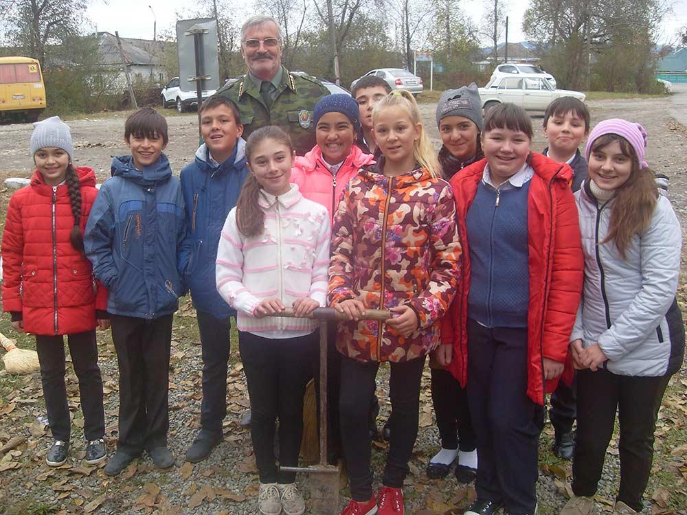 Школьникам Зеленчукского района рассказали о проблемах экологии