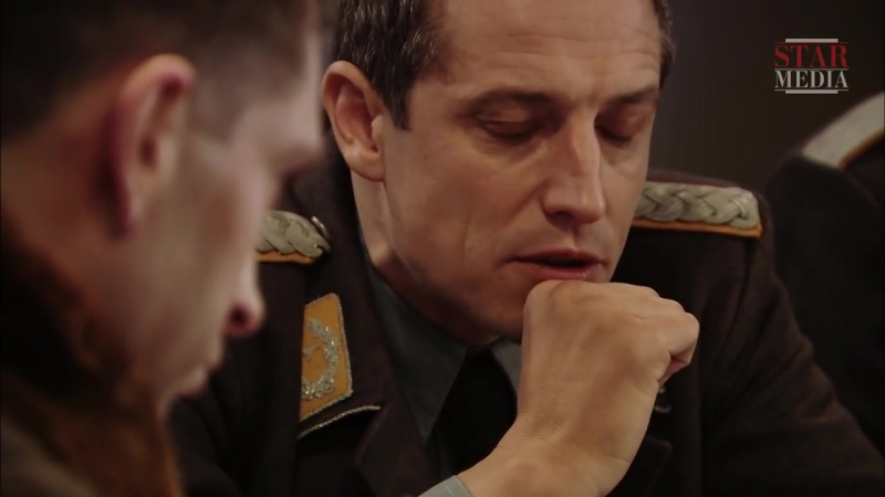 Небо в огне 2010 12 серия сцена в столовой с участием Дмитрия Фрида