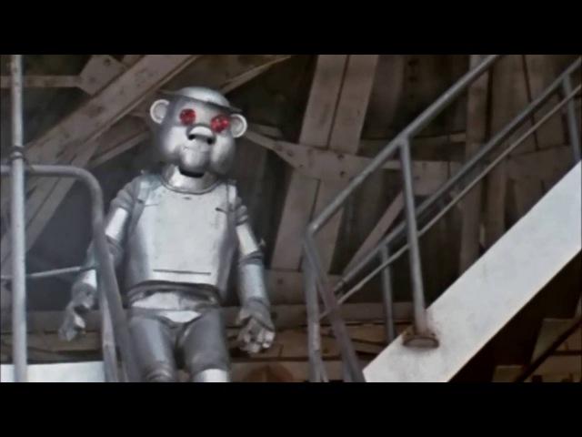 Трэшовый Робот Тут кнопочку тронул, откроется дверца. Видишь как удобно - у меня нет сердца