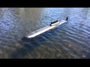 Engel 1 100 RC Russian Typhoon Class Submarine