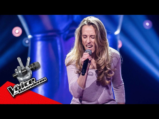 Lies zingt 'Way Down We Go' Blind Audition The Voice van Vlaanderen VTM