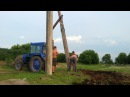 Самодельный подъемник для трактора