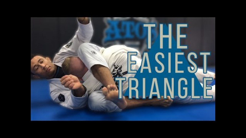 The Most Simple and Effective Triangle in BJJ - Dominique Bell