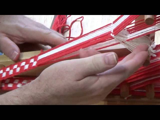 Weaving an Inkle Band on an Inkle Loom