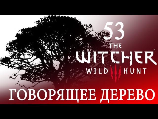 53 [Говорящее дерево и Хозяйки леса] Игра ВЕДЬМАК 3: Дикая Охота ПРОХОЖДЕНИЕ