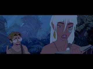 Atlantis: The Lost Empire-Milo and Kida questions