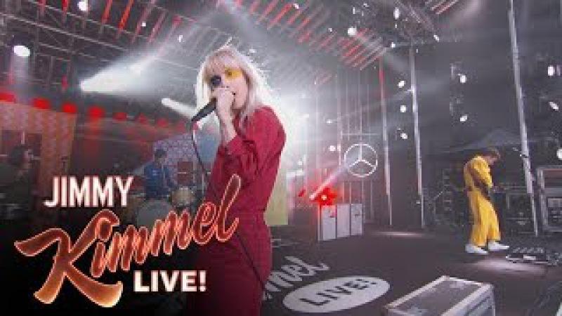 Paramore Performs
