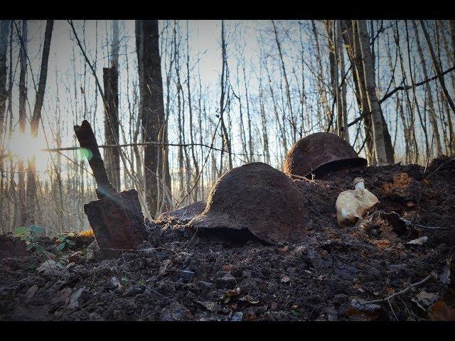 Коп по войне - Насыпной блиндаж / Searching with Metal Detector