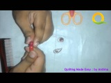 Tutorial # 70 Quilling Made Easy # How to make Beautiful Love Chain RED using Paper Art Quilling