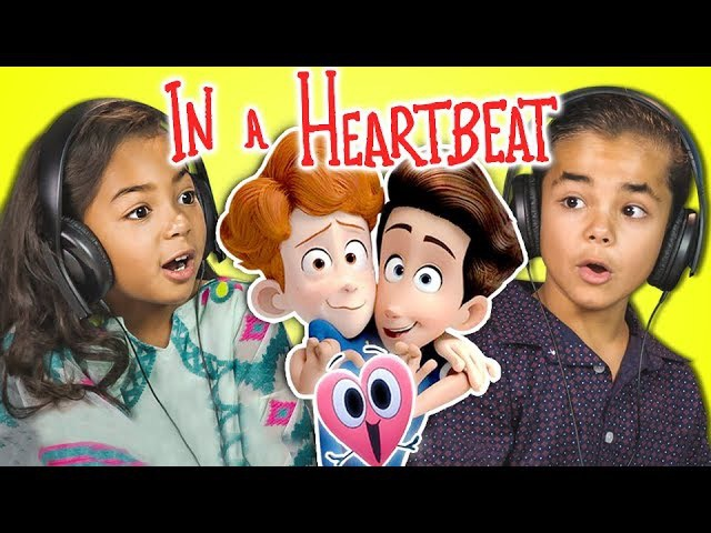 KIDS REACT TO IN A HEARTBEAT Animated Short Film
