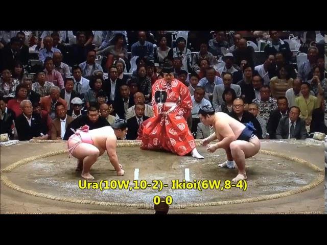 Sumo -Natsu Basho 2017 Day 13, May 14th -大相撲夏場所 2017年 初日目