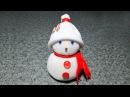 Творческая Беседка. Снеговик из носка за 5 минут без шитья. Поделки на Новый Год