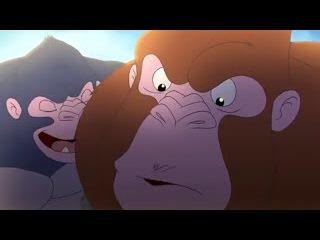 Полнометражный мультфильм для детей Смелый большой панда интересный мультик