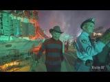 4K Chucky, Freddy, Jason, &amp LeatherFace on Terror Tram - Halloween Horror Nights