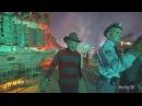 4K Chucky Freddy Jason LeatherFace on Terror Tram Halloween Horror Nights