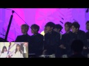 161119 EXO SEVENTEEN Reaction to GFRIEND Full Stage (Navillera Rough) on MelOn Music Award 2016