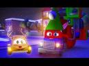 Трансформер Карл и Гигантсикй грузовик эльф в Автомобильном Городе| Мультик про