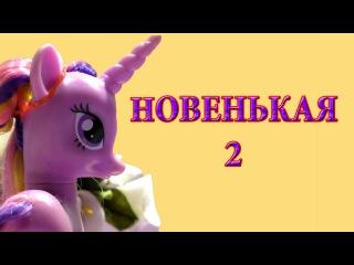 Сериал Пони в школе Новенькая 2 часть 7 серия