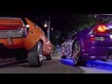 2 FAST 2 FURIOUS - Pink Slip Race (Eclipse &amp Evo vs Camaro &amp Challenger) #1080HD