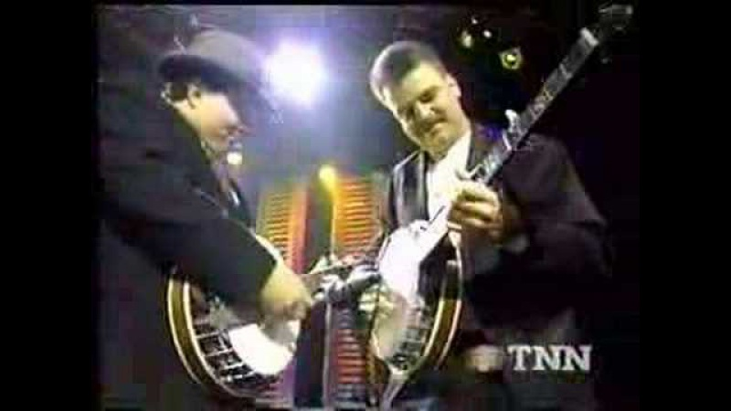Ricky Skaggs Ky. Thunder with Del McCoury Band - Rawhide