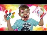 Bad baby Мама в маршмеллоу LOTS OF CANDY CHALLENGE MARSHMALLOW FACE  Играем В ДОКТОРА С Уколами