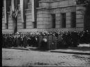Zmiana Warty przed Komendą Miasta Warszawa 1937