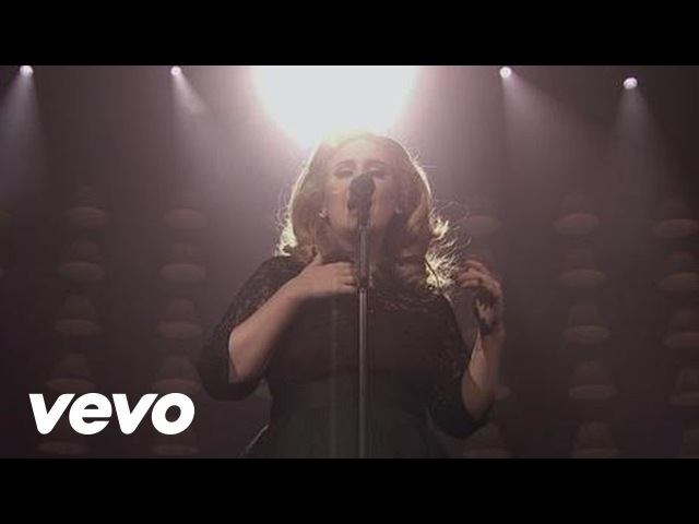 Adele - Set Fire To The Rain (Live at The Royal Albert Hall) [2011]