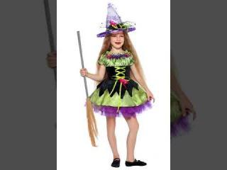 Карнавальные костюмы ведьмочек на Хэллоуин для девочек купить в Киеве через инт...