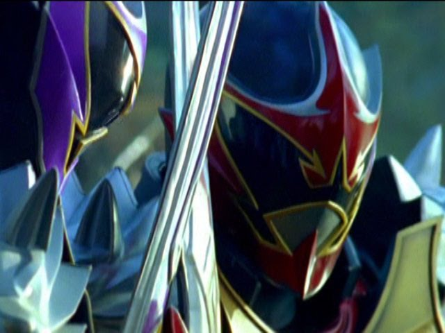 Koragg vs Wolf Warrior Fight | Power Rangers Mystic Force