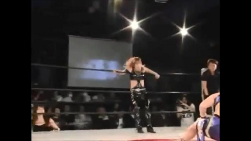 Carlos Amano, Manami Toyota, Nao Komatsu vs. Hiren, Io Shirai, Mio Shirai