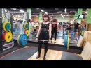 становая тяга 130 кг на 8 повторов