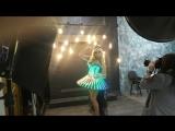 Бэкстейдж фотосессии нового светодиодного шоу Елены Романцовой