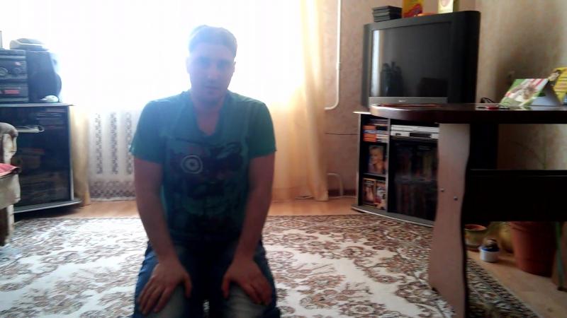 Эльдар Богунов и Кролик Блэк делают упражнения
