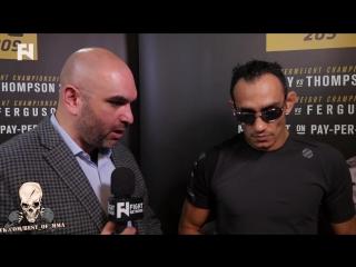 UFC 209 : Тони Фергюсон про ситуацию с Хабибом Нурмагомедовым