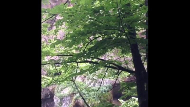 Кабардино-Балкария! 👍 Чегемские водопады 😍 Какая красота! Многие и не зная живут в Раю)