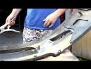 Восстановление Бампера Aston Martin по ХАРДКОРУ