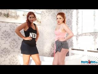 Kara Karter & Harley G - Busty Dance Off
