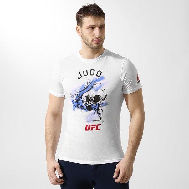 ФутболкаReebok UFC Judo