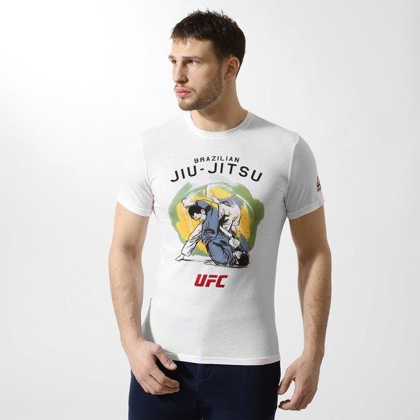 ФутболкаReebok UFC Jiu-Jitsu